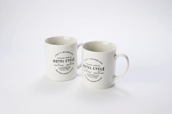 HOTEL CYCLE オリジナルマグカップ