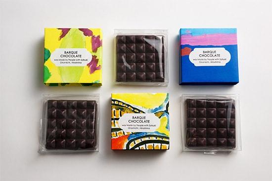 尾道さつき作業所 BARQUE CHOCOLATE(バーク チョコレート)