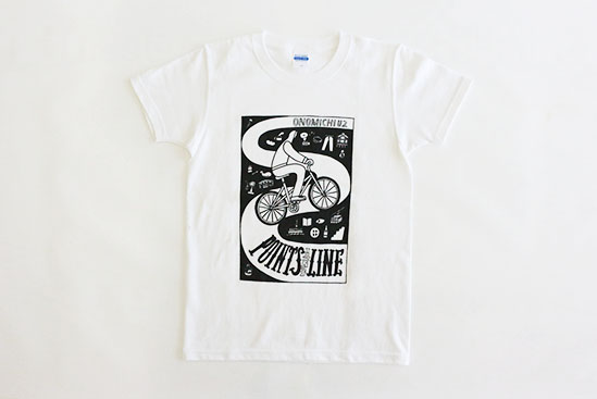 <POINTS AND LINE> Tシャツ