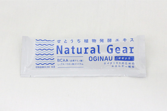 Natural Gear ナチュラルギア  <エネルギー補給ゼリー>