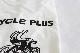 "CYCLE PLUS Tシャツ ""サイクリングマン"""