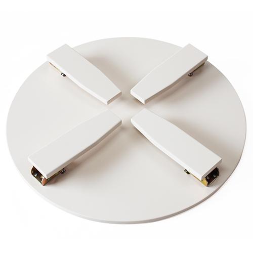 和風カフェテーブル小波千鳥(オフホワイト)