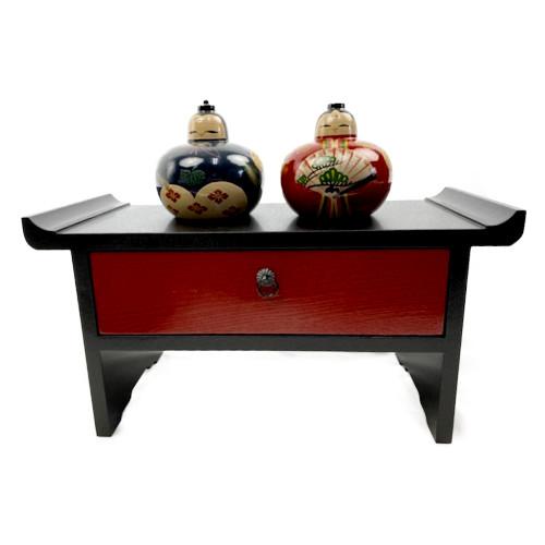 和風ミニ飾り台(赤)