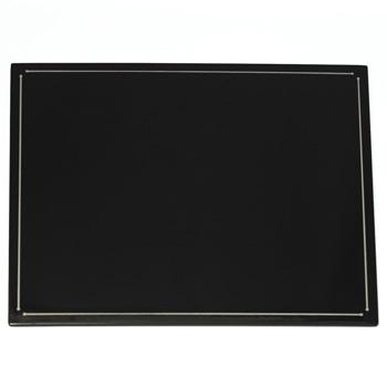 ライン長角折敷(黒)