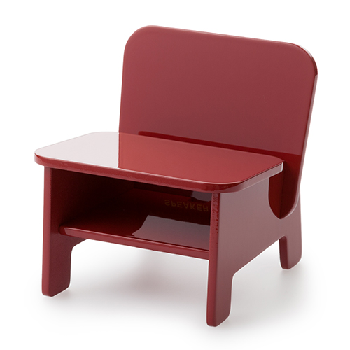 SPEAKER CHAIR chair type - Premium プレーン(赤)