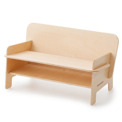SPEAKER CHAIR bench type - Standard プレーン(クリア)