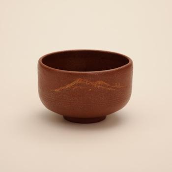 【人間国宝】川北良造作 沃懸地抹茶椀 遠山