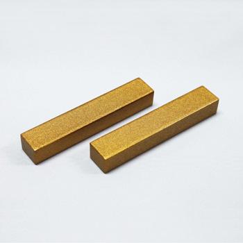 ナイフ&フォークレスト2P(ゴールド)