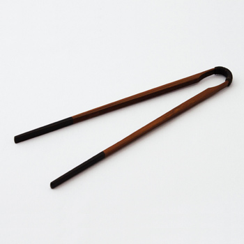 古代箸 先黒