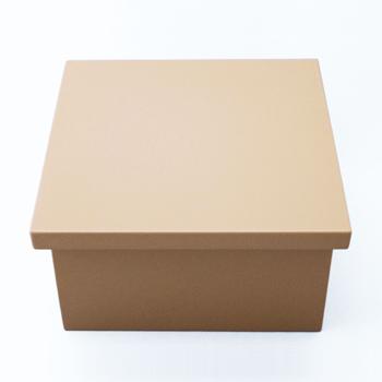 正角ボックス(ベージュ)