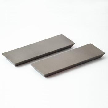 長角塗り板2P(シルバー)
