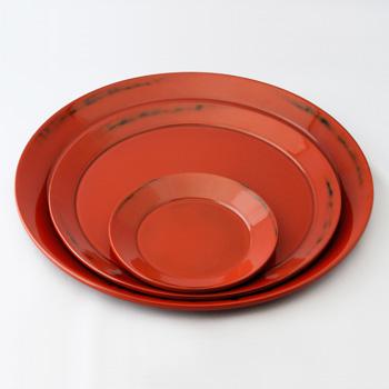 皿盆(根来)