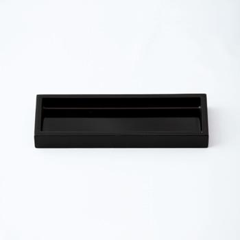 長角ミニトレー(黒)