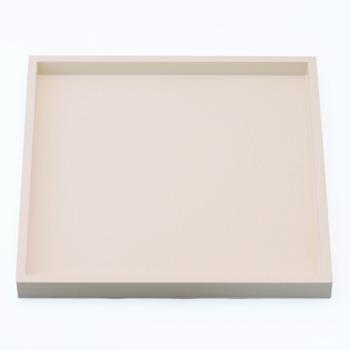 正角盆(オフホワイト)