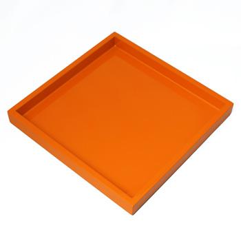 正角トレー(オレンジ)