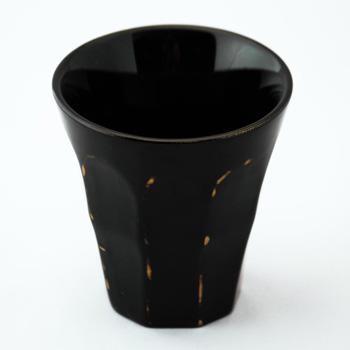フリーカップ(変根来-黒)