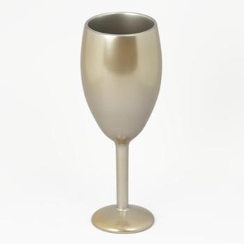 銀彩木製ワインカップTall