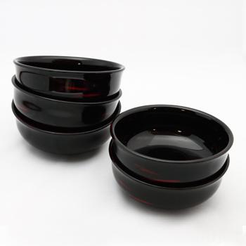 曙塗小鉢(五客組)