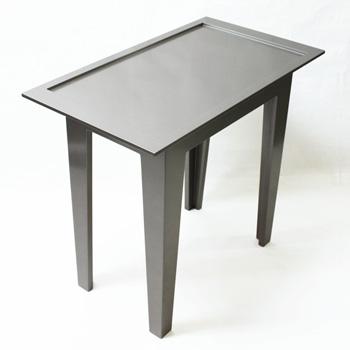 サイドテーブル(シルバー)