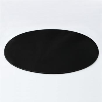 オーバルマット(黒)