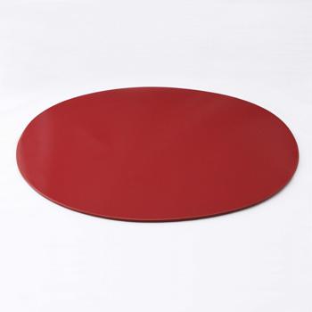 オーバルマット(赤)
