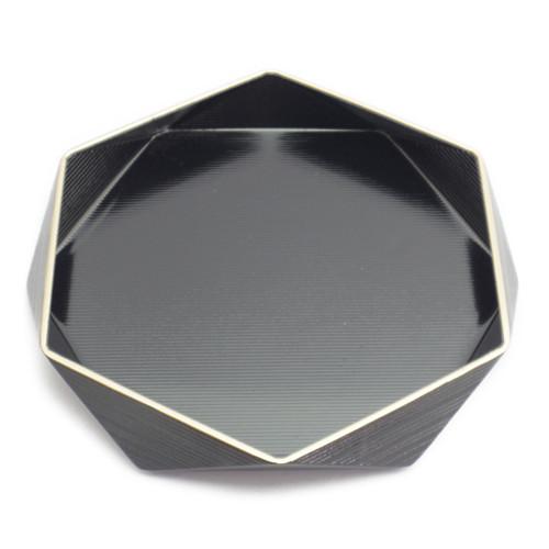 縁金ダイヤ盛器(黒)