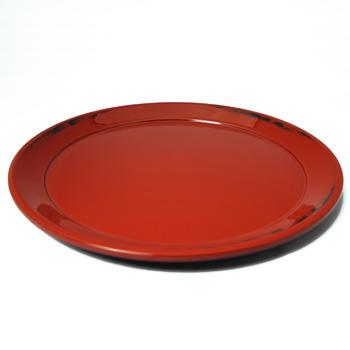 根来塗特注皿盆