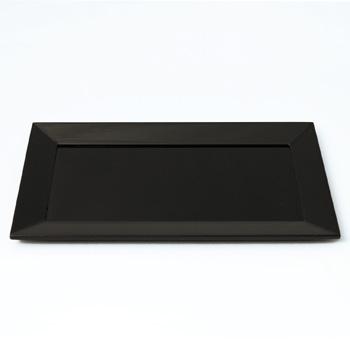 長四方盆(黒)