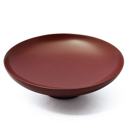 くりぬきモダン取り皿(銀朱)
