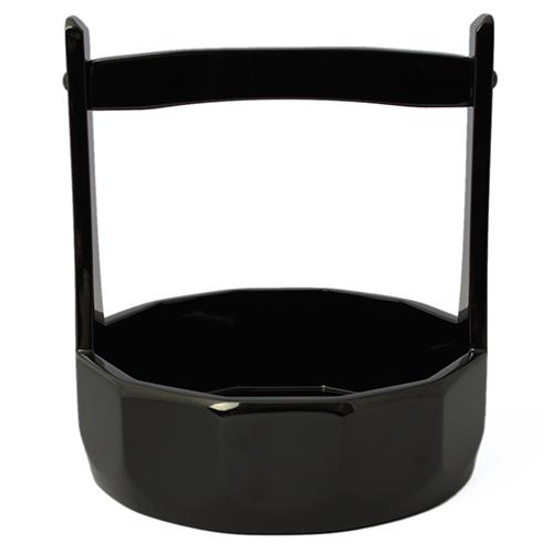 十二角手付盛鉢(黒)