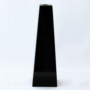 台形花器(黒)
