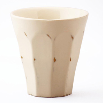 フリーカップ(変根来-白)