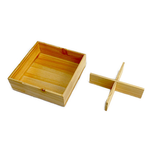 Njeco汎十字仕切(正角三段重箱用)