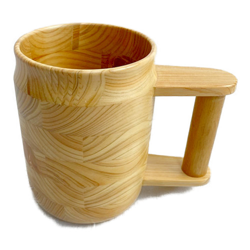 くりぬきビアカップ(クリア)