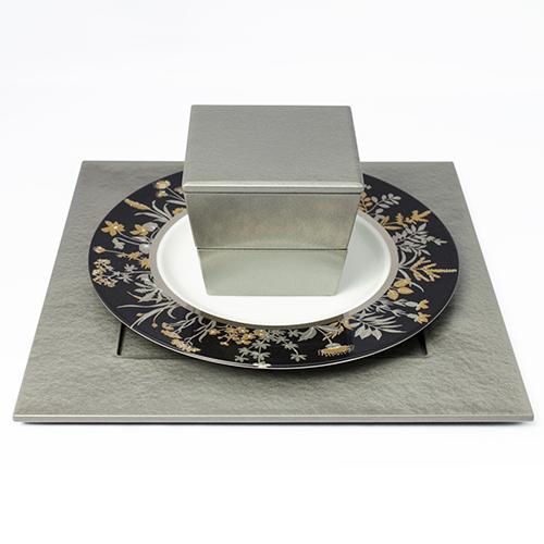 角皿(シルバー)
