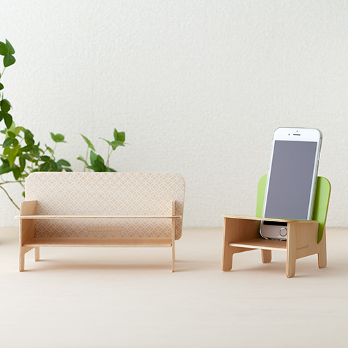 SPEAKER CHAIR chair type - Standard プレーン(ホワイト)