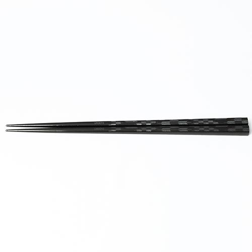 J-Pattern箸 矢羽根(黒)