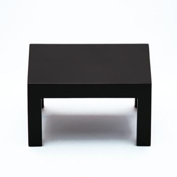 ミニ飾り台ロータイプ(黒)