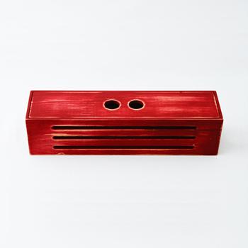 Njeco汎紀州備長炭BOX(赤)