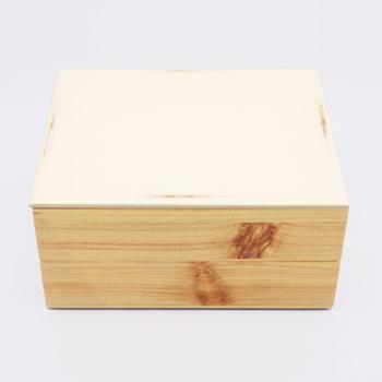 Njeco汎二段重箱(変根来-白)