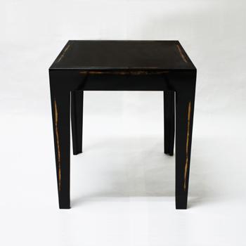 旧型ネストテーブル(変根来-黒)
