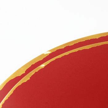 三日月プレート(赤)