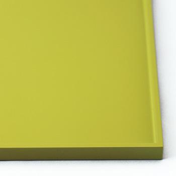 長角盆(薄緑)
