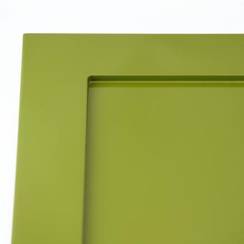 特注角皿リム45(グリーン)