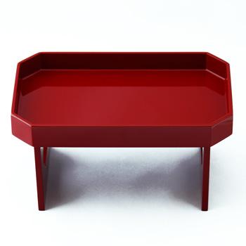 八角飾り膳(赤)