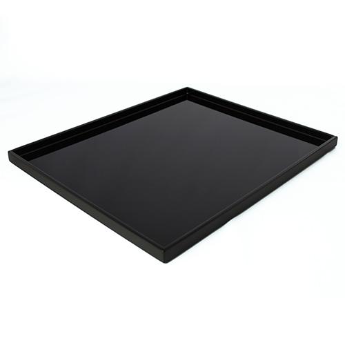 浅縁長角盆(黒)