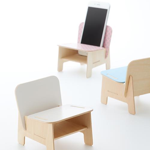 SPEAKER CHAIR chair type - Standard 七宝(ホワイト)