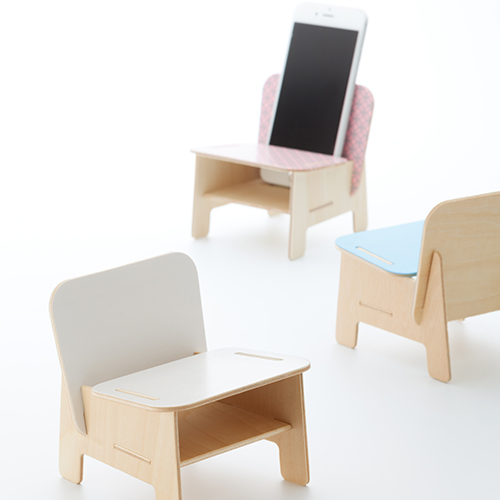 SPEAKER CHAIR chair type - Standard 七宝(クリア)