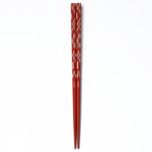 J-Pattern箸 矢羽根(赤)