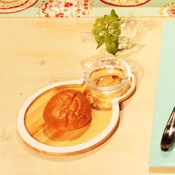 Njeco汎ひょうたん皿(ピュアホワイト)